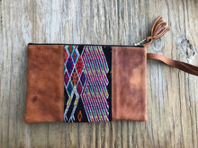 Handmade Luxury Huipil Clutch Wristlet No. 7
