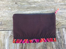 Vintage Handmade Huilpil cosmetic bag pouch  no. 18