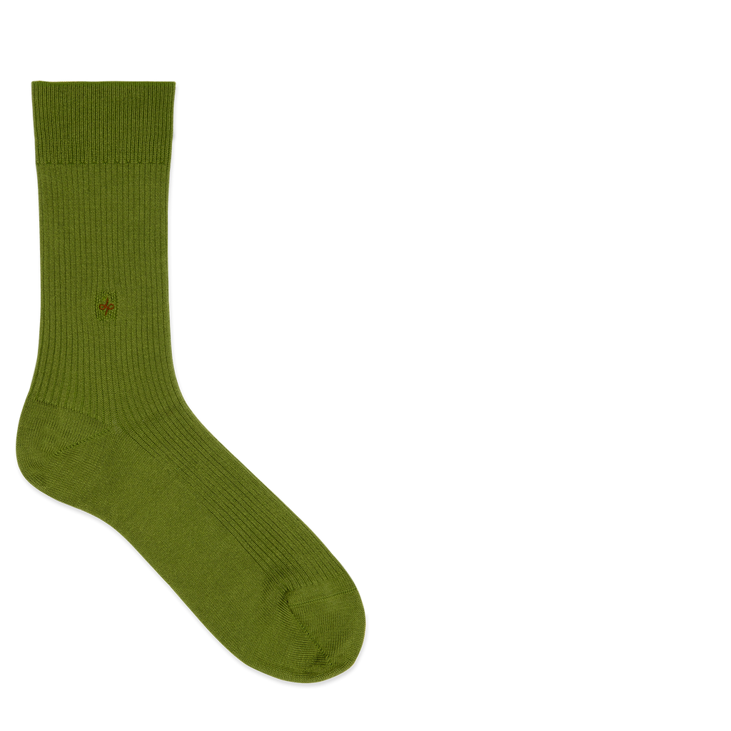 Dueple's Ninja turtle Colored Left Sock