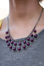 Load image into Gallery viewer, Paparazzi Jewelry Necklace Really Rococo Purple