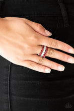 Load image into Gallery viewer, Paparazzi Jewelry Ring Treasury Fund Red