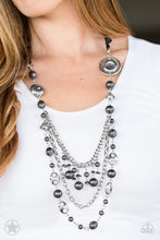 Load image into Gallery viewer, Paparazzi Jewelry Necklace All The Trimmings - Black