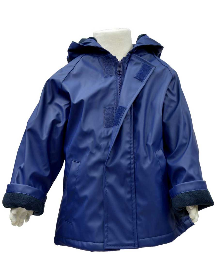 WelliesAU Navy Rainy Days Raincoat