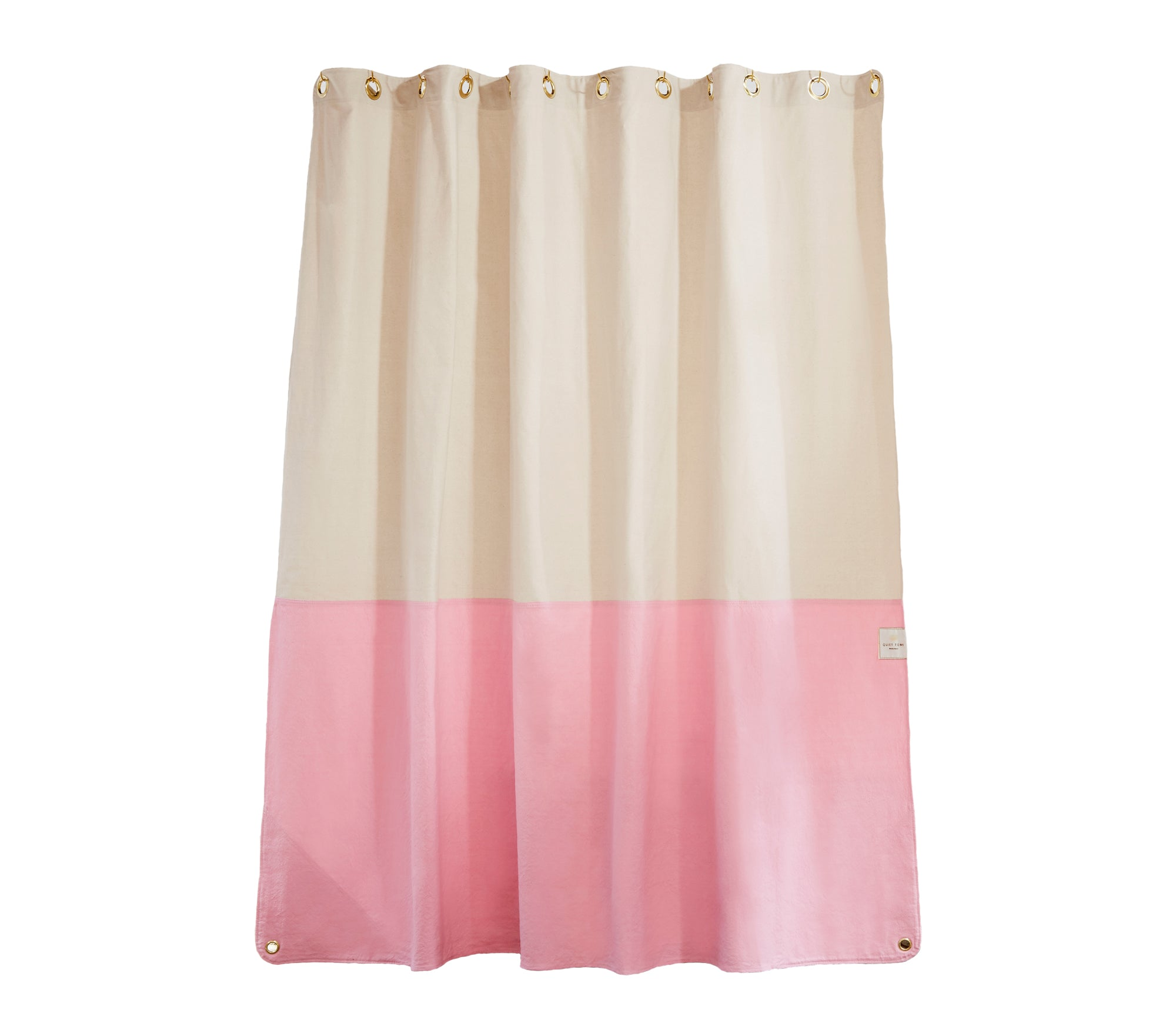 CANVAS SHOWER CURTAIN - ORIENT PHLOX