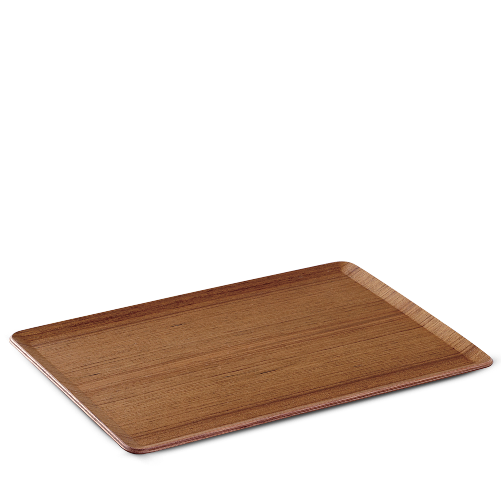 PLACE MAT / TRAY - TEAK PLYWOOD