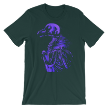 "Purple ""bare bones"" Bella + Canvas 3001 Unisex Short Sleeve Jersey T-Shirt with (multiple shirt colors available)"