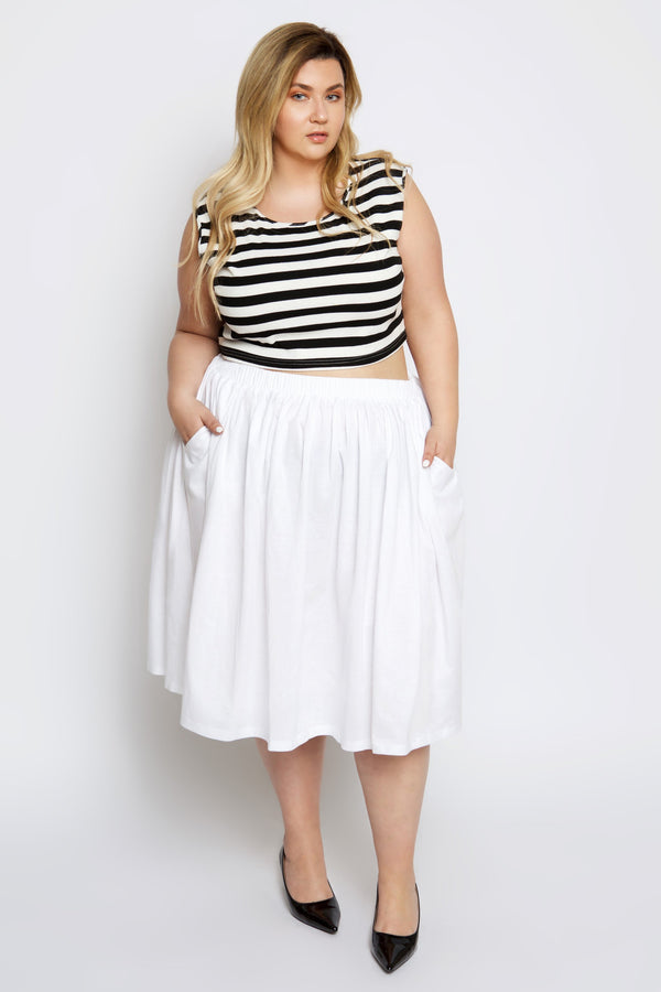 Essential Circle Skirt with Pockets