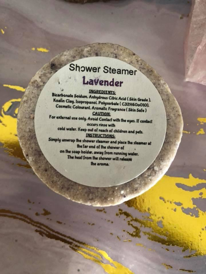 Shower steamers