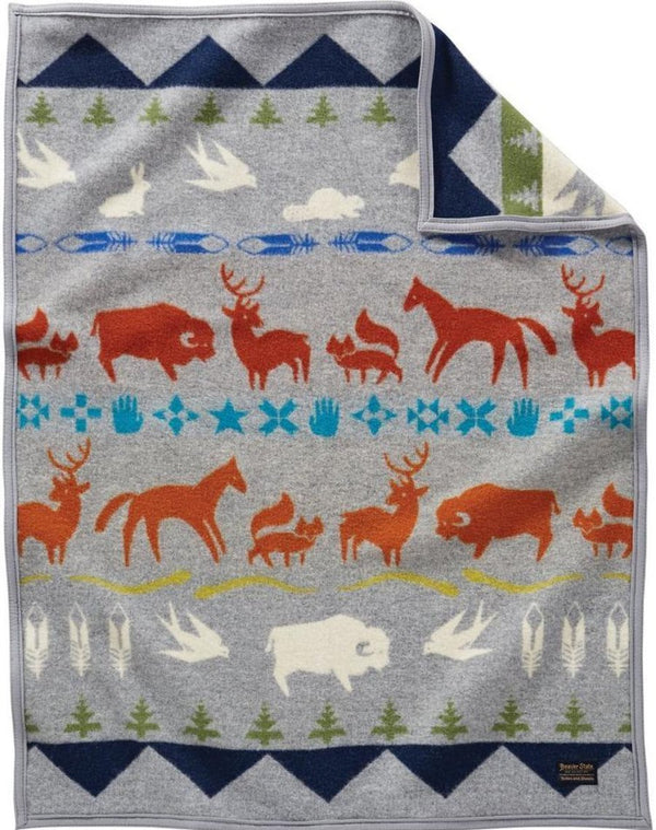 PENDLETON - MUCHACHO Baby Blanket -SHARED PATHS