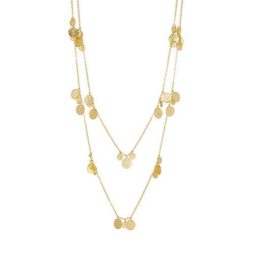 ALENA NECKLACE GOLD - Wonderfuletta