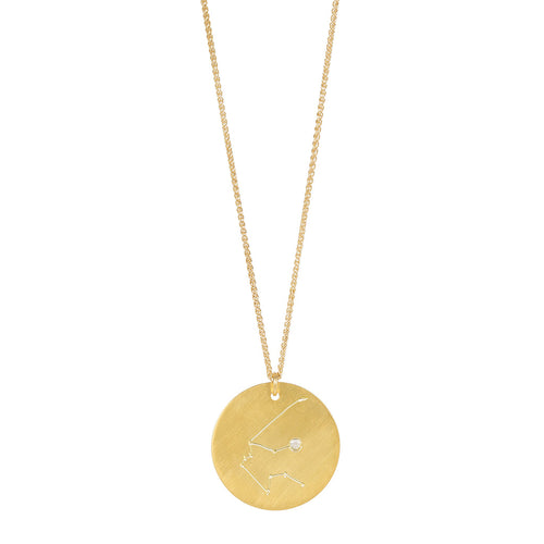 ZODIAC CONSTELLATION PENDANT GOLD