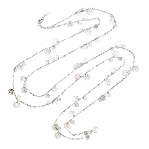 ALENA NECKLACE SILVER - Wonderfuletta