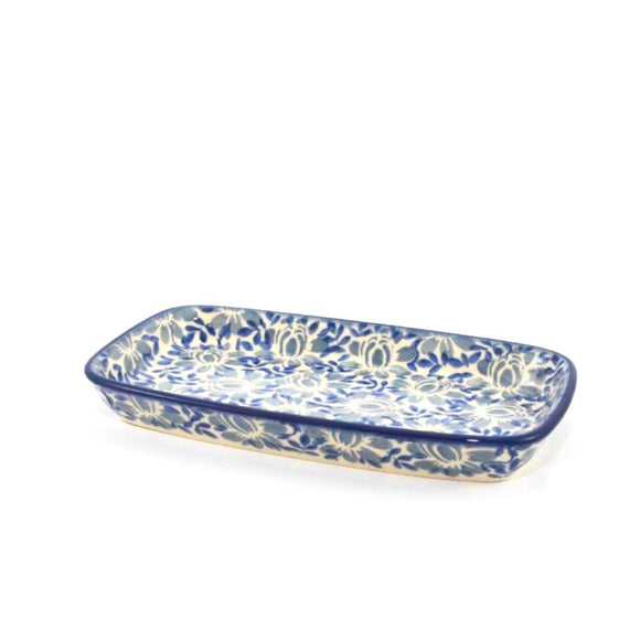 Serving Dish small Bellflowers