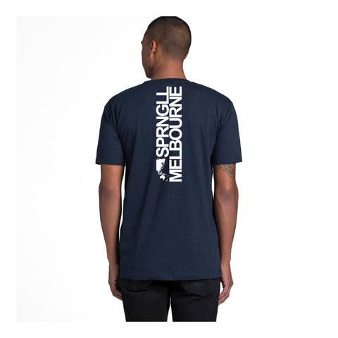 Bold Map Navy Tee
