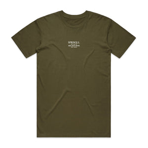 Pronunciation Army Green Tee
