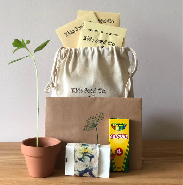 Mother's Day Garden Gift Set- A unique gift for mom from Kids Seed Co. Asheville, NC