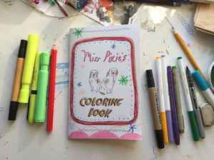 Miss Pixies Coloring Book