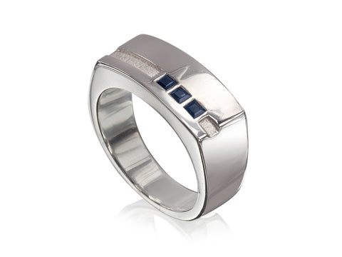 Edge Wedding Bands