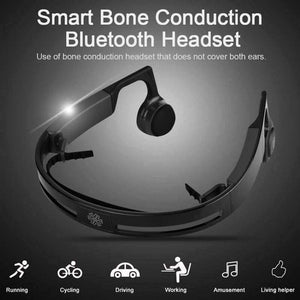 BONE-CONDUCTION® HI-TECH WIRELESS BLUETOOTH HEADPHONES - bestshoppingco