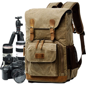 Premium Vintage Photographers Backpack - bestshoppingco