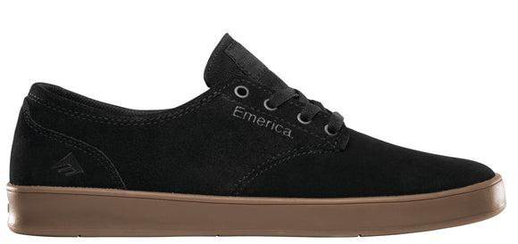 Emerica - Romero Laced Shoes | Black Charcoal Gum