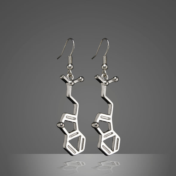 DMT Molecule Earrings