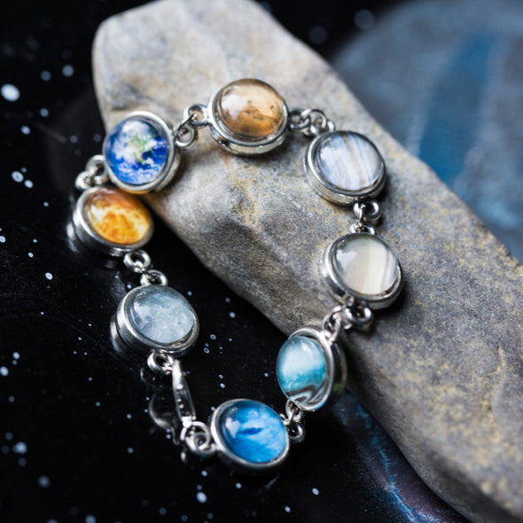 Planet Bracelet With 8 Planet Images