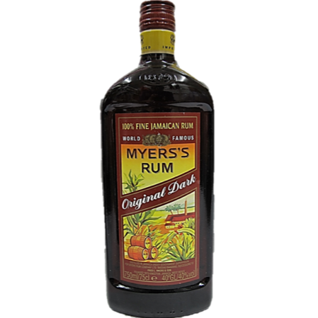 Myers Original Dark Rum 750ml
