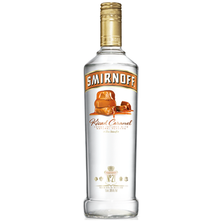 Smirnoff Kissed Caramel Vodka 750ml