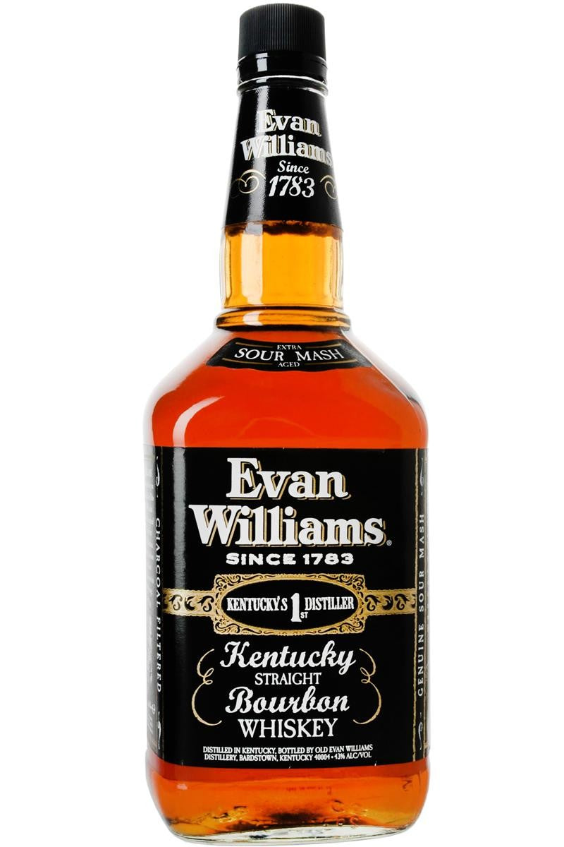 Evan Williams Bourbon Black 750ml