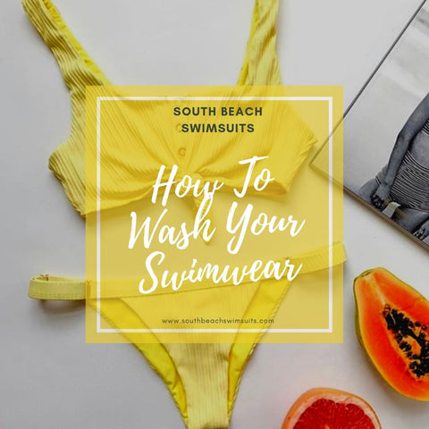 How to care for your swimsuits