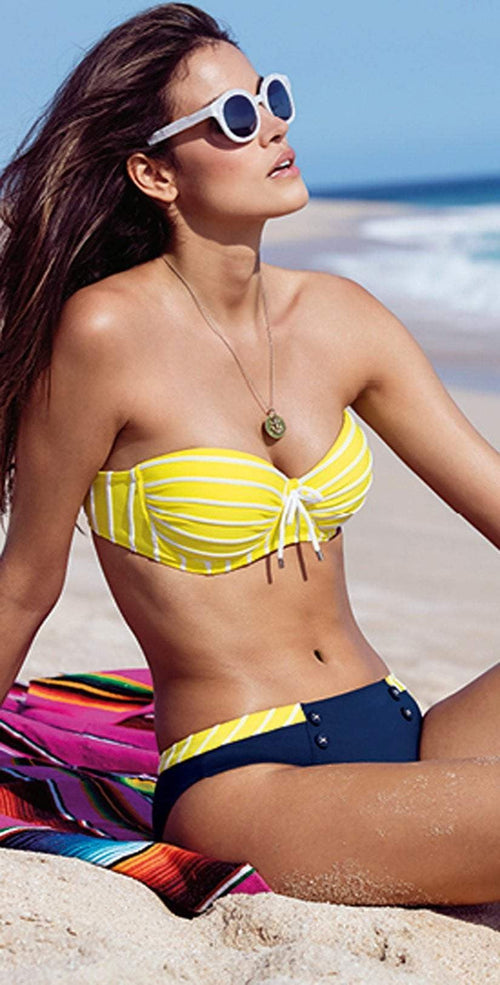 Lidea Sylt Bikini Set in Yellow 7883-577-554