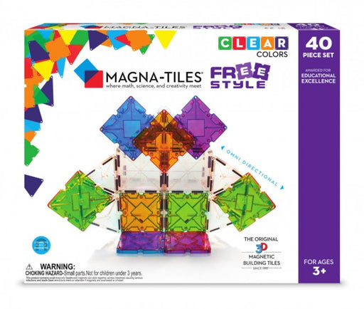 Magna Tiles Free style 40 stk