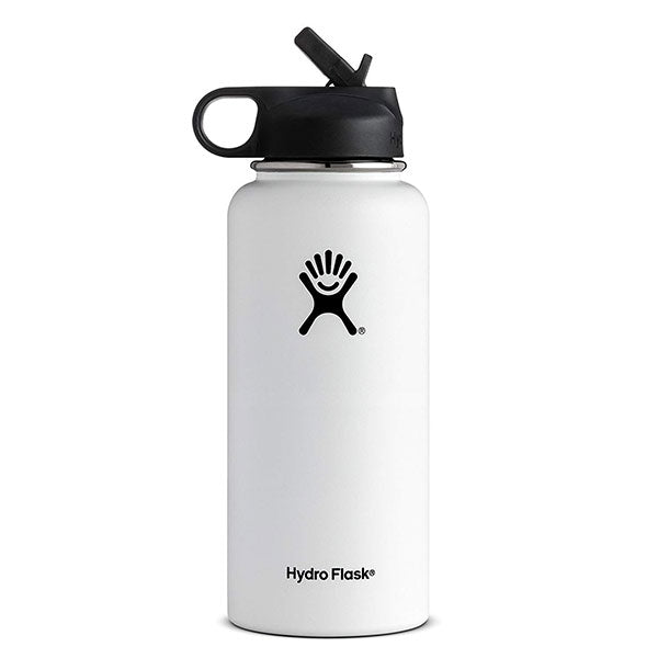 Hydro Flask 32 oz Wide Mouth Bottle with Straw Lid
