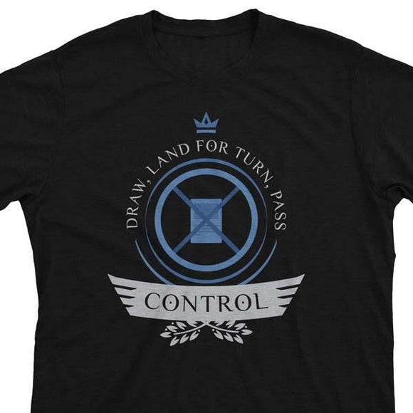 Control Life V2 - Magic the Gathering Unisex T-Shirt - epicupgrades