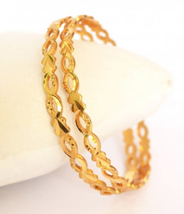 Simple machine cut bangle - Bangle by Shrayathi