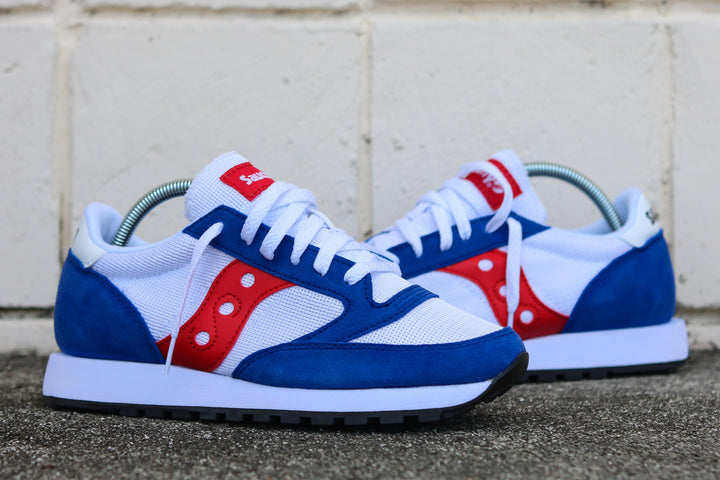 JAZZ ORIGINAL VINTAGE WHT/BLU/RED