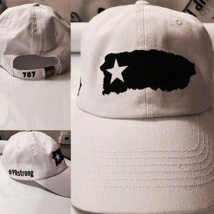 #PRstrong White & Black Hat - Made To Excel Fitness