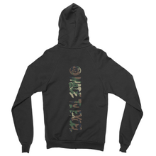 I AM v2 // Zip Up Hoodie (Green Camo) - Made To Excel Fitness