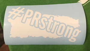 #PRstrong Car Decal - Made To Excel Fitness
