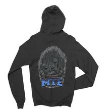 """Iron Throne"" Zip Up Hoodie - Made To Excel Fitness"