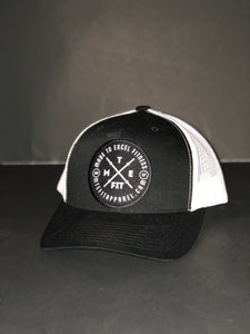 """The Brand"" Patch Curved Trucker SnapBack - Made To Excel Fitness"
