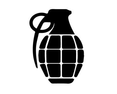 GRENADE DECAL VINYL PAINTING STENCIL PACK *HIGH QUALITY*