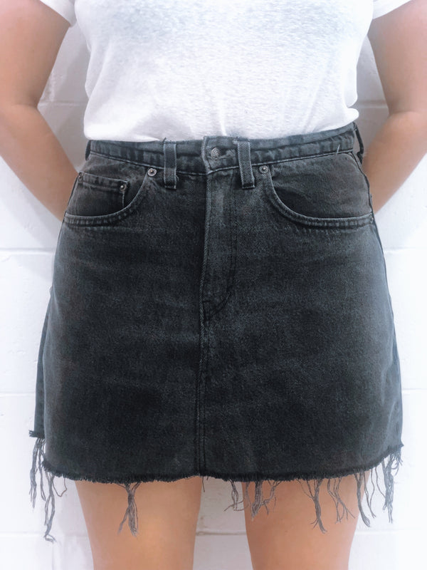 Vintage Levi's Denim Skirt Size 11