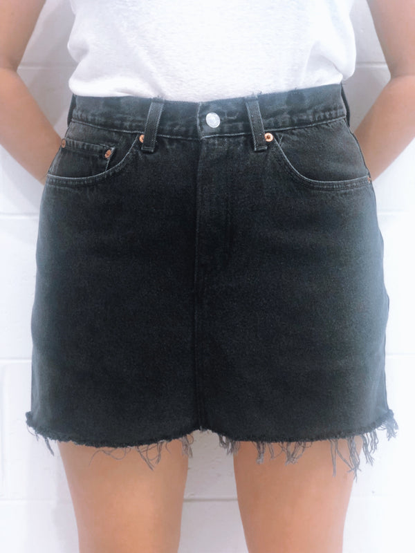 Vintage Levi's Denim Skirt Size 12
