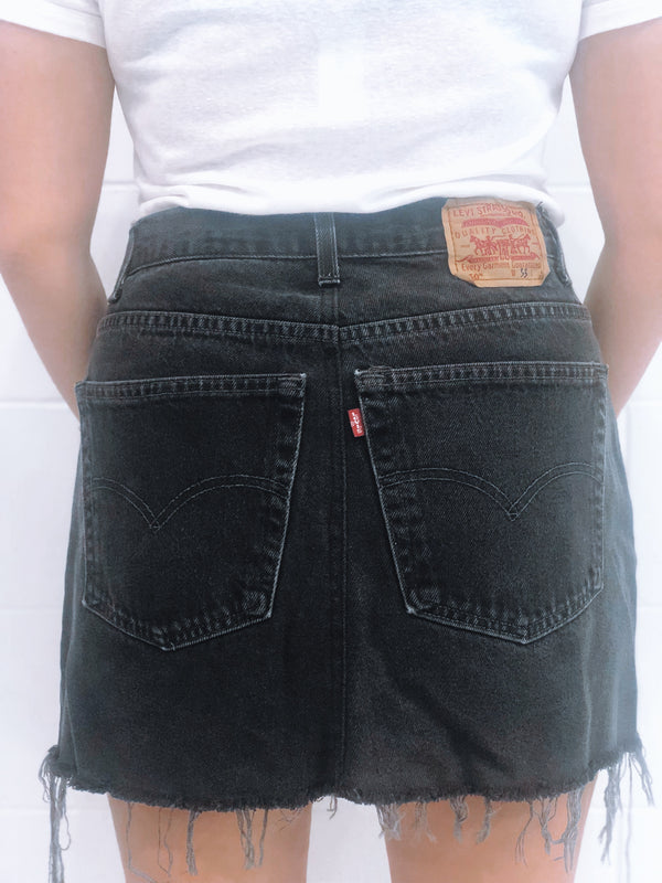 Vintage Levi's Denim Skirt Size 13
