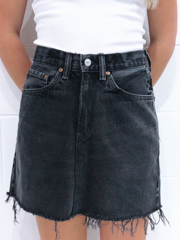 Vintage Levi's Denim Skirt Size 8
