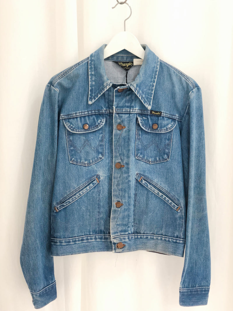 Wrangler Denim Jacket Size 10-12