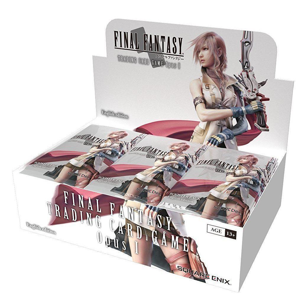 Final Fantasy Trading Card Game Opus I Booster Display