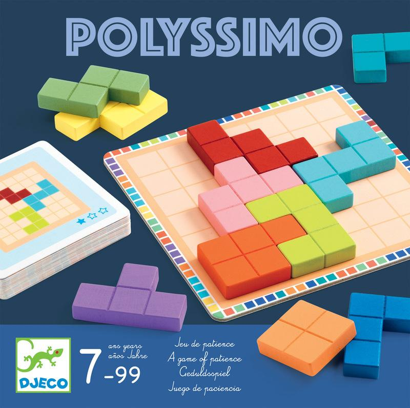 Djeco Polyssimo Tactic Brain Teaser Game
